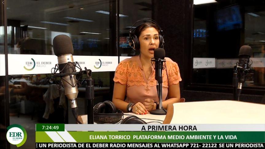 Programas radiales en Santa Cruz, entrevista CEJIS sobre llegadaTIDN