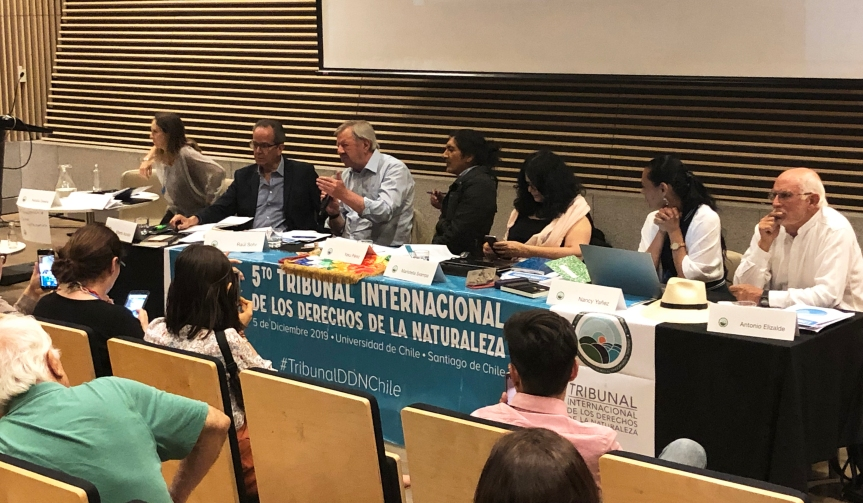 JUECES DEL TRIBUNAL INTERNACIONAL DE LOS DERECHOS DE LA NATURALEZA(TIDN)