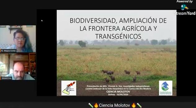 Biodiversidad, Ampliación de Frontera Agrícola yTransgénicos