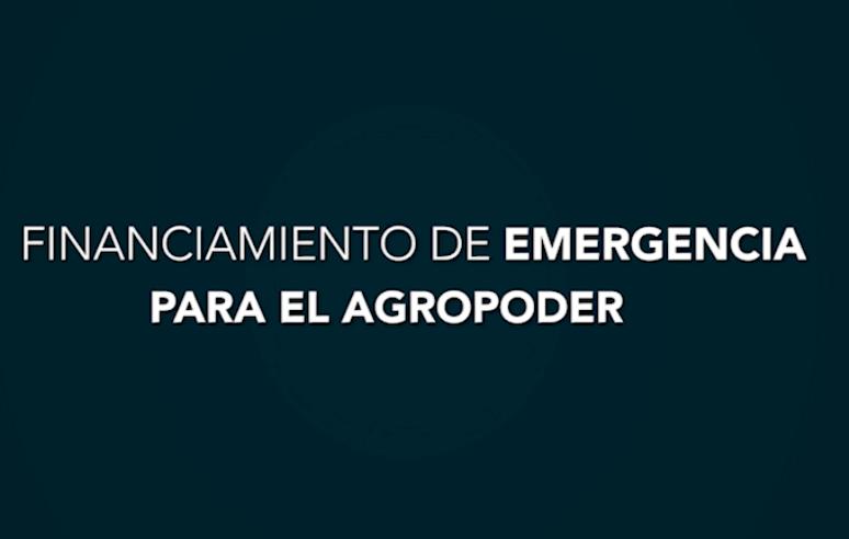 El Financiamiento de Emergencia privilegia a los agropecuariosendeudados