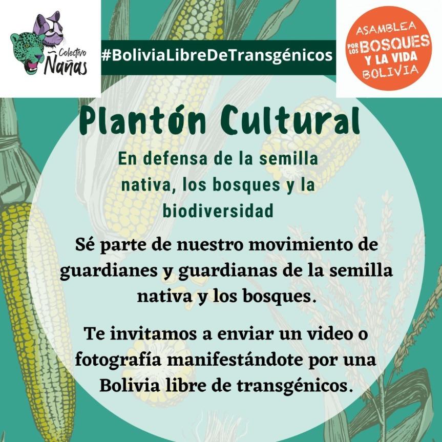 Plantón Cultural en Defensa de los Bosques y laBiodiversidad