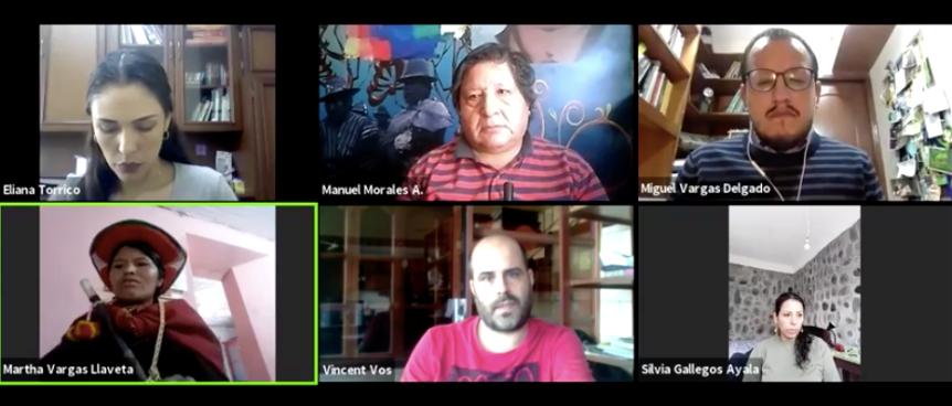 Conferencia de Prensa de la Asamblea por los Bosques y la Vida – Bolivia: Presentación de la Acción Popular contra Decretotransgénico