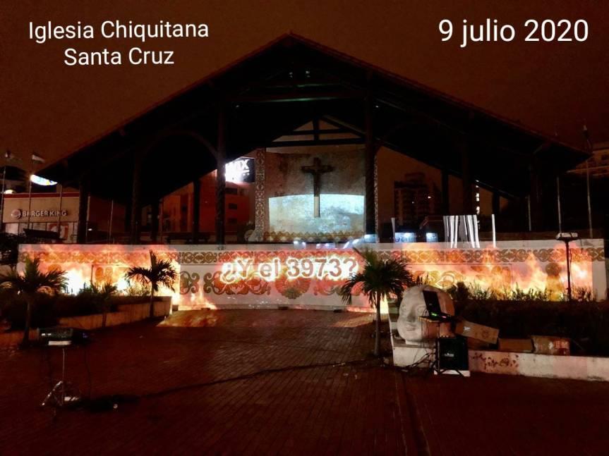 Protestan contra el Decreto 3973 que permite incendios forestales enBolivia