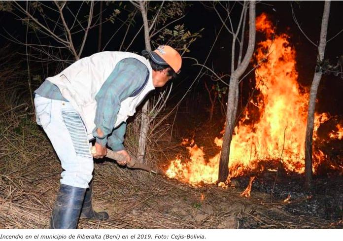 El Tribunal internacional de la naturaleza pide a Bolivia un informe sobre las normas que ocasionaron los incendios el2019