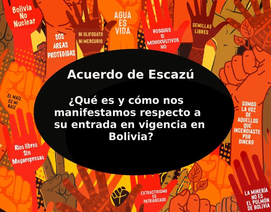 Asamblea por los bosques sobre el Acuerdo deEscazú